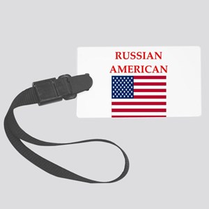 russian Luggage Tag
